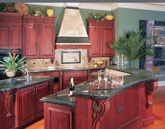 cherry-kitchen-design-with-plant