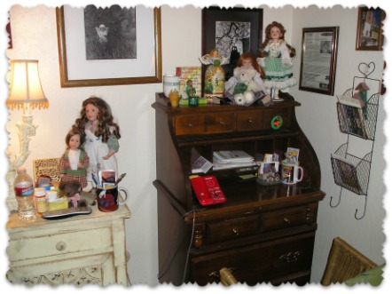 Ireland Vignette & Photos in my Ireland Room