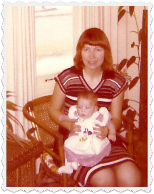 author & daughter