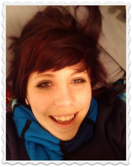 Fiona as a redhead