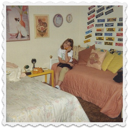 Heather's teen room - townhouse