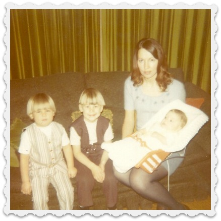 My three sons - 1971
