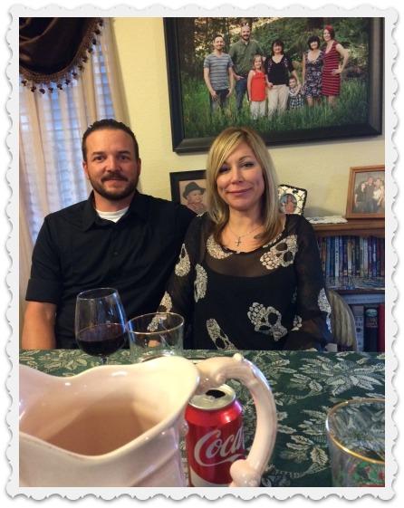 Heather and David - post dinner - nov 26