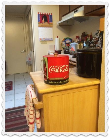 January kitchen - crockpot, etc.