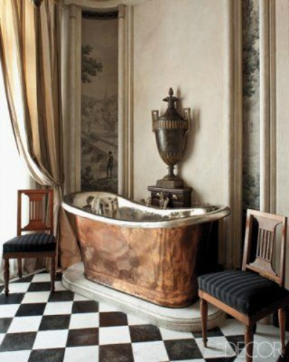 resized bathtub