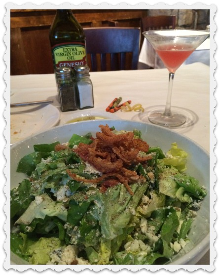 salad and martini - 12