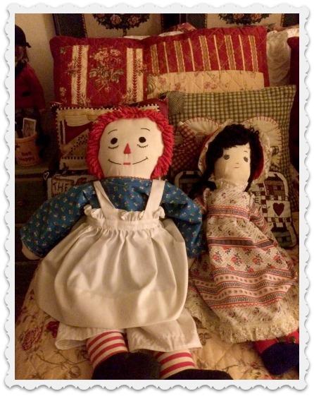 Anne & Heidi dolls