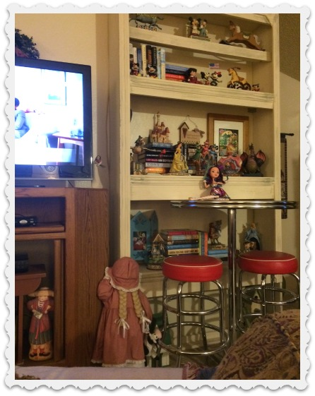 Bookshelves, Madeline Hatter, etc.