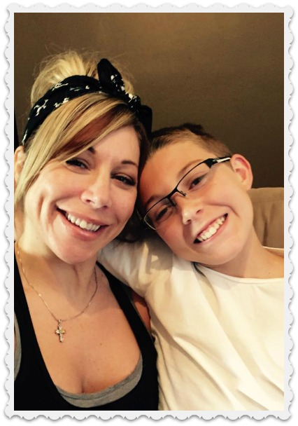 Heather and Noah - Mother's day 2