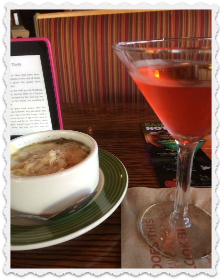 soup and martini on Monday-2-29