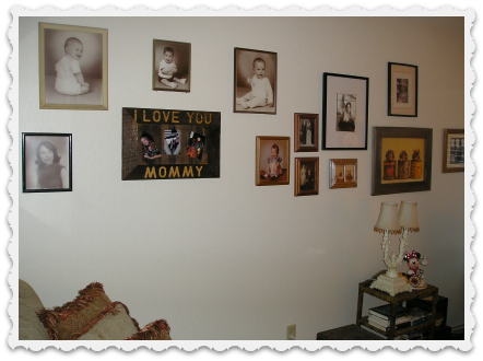 Family Wall in Office - 2016