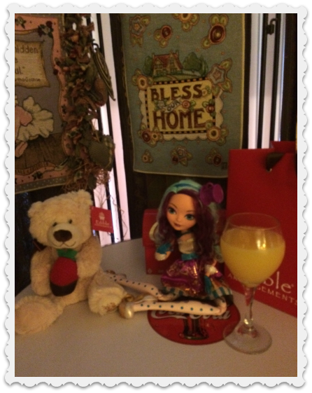 Mother's Day gifts & mimosa