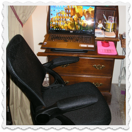 June 11 - new office chair
