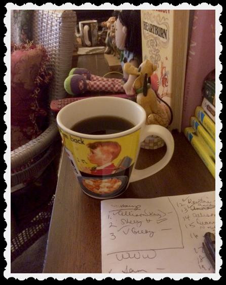 june 9 coffee & blogging, etc.