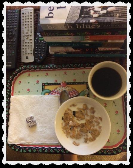 morning cereal & books - june 9
