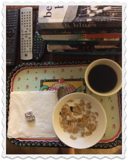 morning cereal & books - june 9